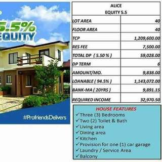 Affordable townhouse near manila