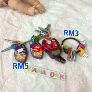 Baby keys & remote toys