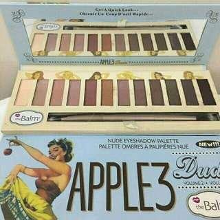Eyeshadow palette apple 3 the balm