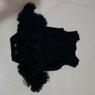 Dress tutu hitam