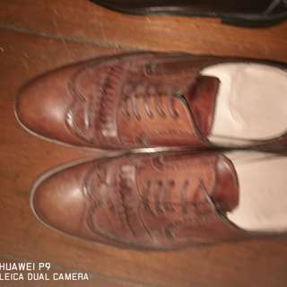 Florsheim leather shoes and others