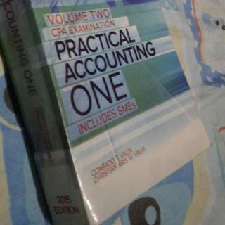 Practical Accounting one volume two (2015 edition)