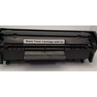 Black Toner Cartridge Q2612A