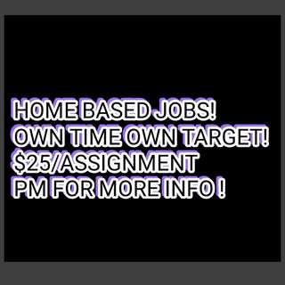 Home based job - advertising