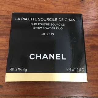 Chanel Brow Powder Duo 50 BRUN Shade