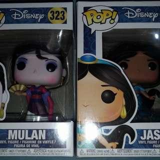 Funko Disney Princesses and Sailor Moon