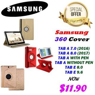 Samsung TAB 360 Flip case (Pouch)