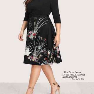 Plussize dress fit upto 2XL