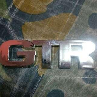 Car logo GTR