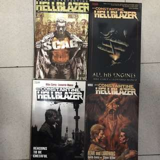 Hellblazer Graphic Novels