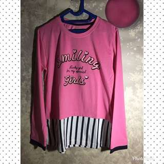 T-Shirt Nevada Pink Size 15-16