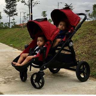Baby Jogger Twin City Select