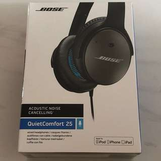 Bose Acoustic Noice Cancelling QuietComfort 25