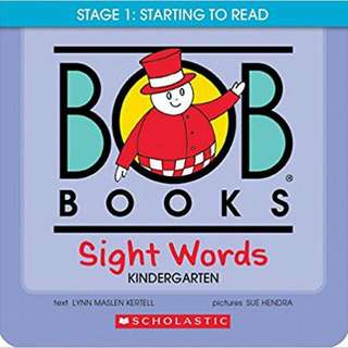 Bob book sight words
