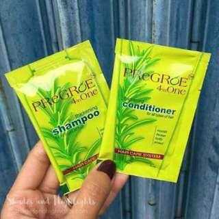 Pregroe Shampoo & Conditioner, Minoxidil Regroe