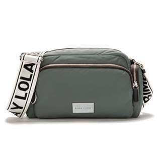 Bimba Y Lola Grey Crossbody Double Bag