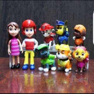 Paw Patrol Cake Topper for Party Decoration/Figurine