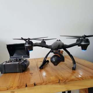Drone jxd 507G wifi camera plus monitor lcd 5,8ghz