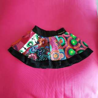 Colourful Desigual Skirt, Girl