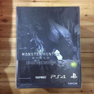 PS4 MONSTER HUNTER WORLD COLLECTOR'S EDITION (R3)