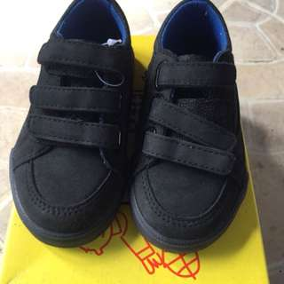 Black shoes for baby boy