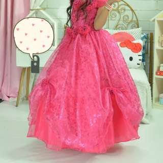 Custom Made Rose Type Birthday Ball Gown or Costume