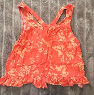 Rusty Orange Crop Top