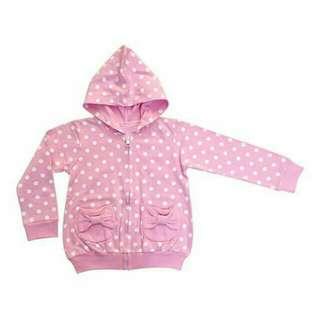 Jaket bahan babyterry