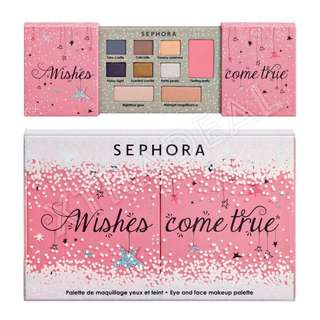 Sephora Collection Wishes Come True Eye and Face Makeup Palette