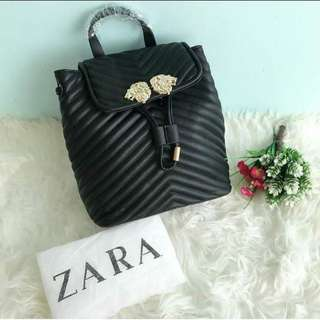 Zara Backpack Lion Mgm Original
