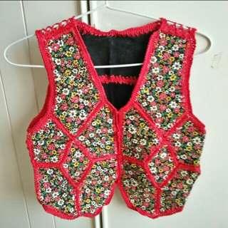 Gorgeous Flower Vest
