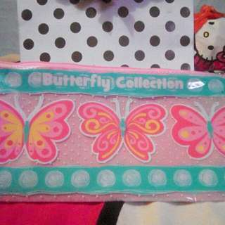 Dompet Unyuu Motif Butterfly