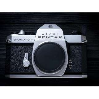 Pentax Spotmatic SP F SLR film camera body