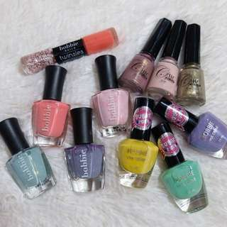 11pcs Nail Polish Bundle