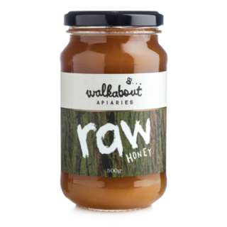 Creamy Raw Honey from Australia Wild Flowers, Unfiltered containing pollen, propolis, & honeycomb