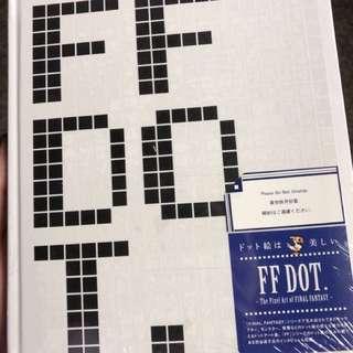 Final Fantasy FF DOT pixel artbook