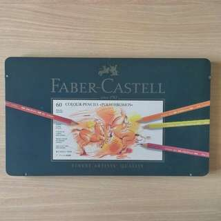 Faber Castell Polychromos Colored Pencils (60 pcs)
