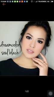 Softlens natural dream color soul black