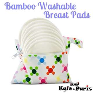 Bamboo Washable Breast Pads/ Nursing Pads