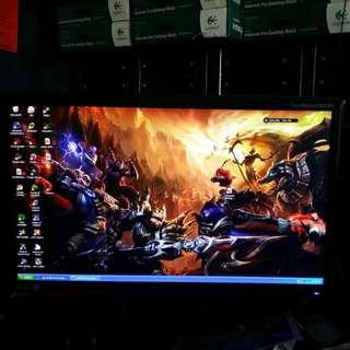 "Samsung 20"" monitor used"