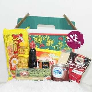 Parcel Paket 6 bisa pakai Box atau Goodie Bag