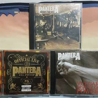 Pantera Original CD Bundle