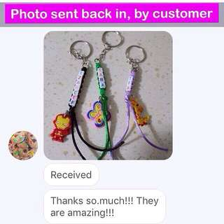 Personalised Weaved Ponytail Keychain with rubber charm (vertical K version) [Children's Day graduation birthday Christmas Raya gifts uncle.anthony uncle anthony uac] FOR MORE PICTURES & DETAILS, GO HERE: 👉 http://carousell.com/p/92629733