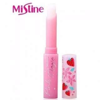 Mistine Pink Magic Strawberry Lip Balm
