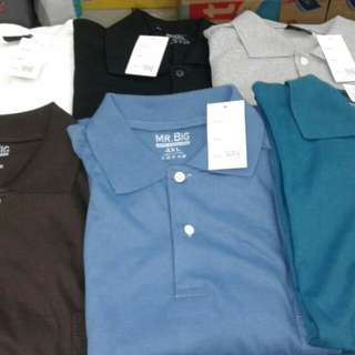 Baju kerah import 3xl-6xl