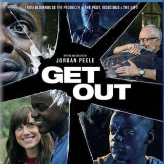 Used Get Out blu ray disc