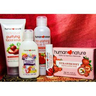 Skin Care Set by Human Nature