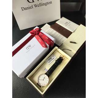 Preloved jam daniel wellington original