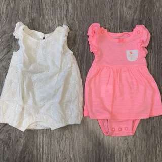 Assorted Baby Girl Onesies