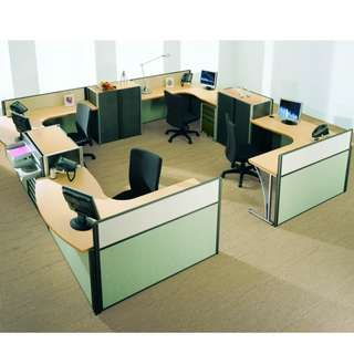 Office Partition - Office furniture - Screen Panel - Cubicle